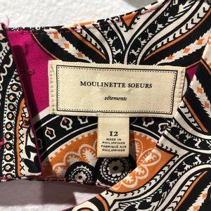 Anthropologie Dresses - Moulinette Soeurs Pink Paisley Giedi Dress